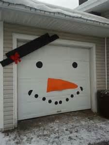 magnetic garage door decorations 25 best ideas about snowman door on pumpkin
