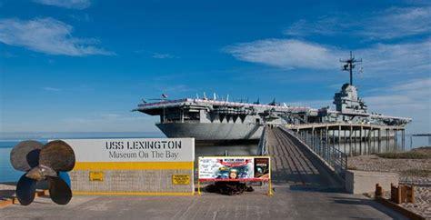boat shop of lexington uss lexington museum on the bay tour texas