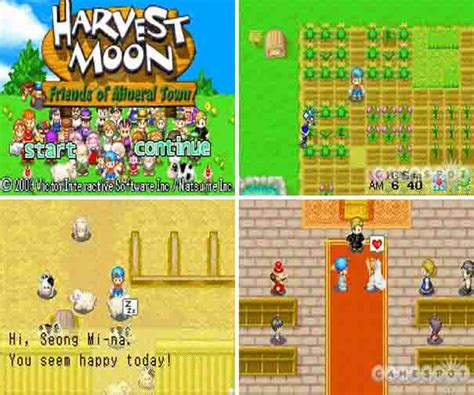 harvest moon friends of mineral town apk harvestmoon di android just for
