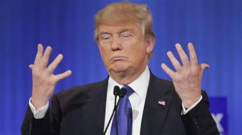 history   donald trump small hands insult