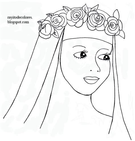 imagenes para colorear a santa rosa de lima compartiendo por amor dibujos santa rosa