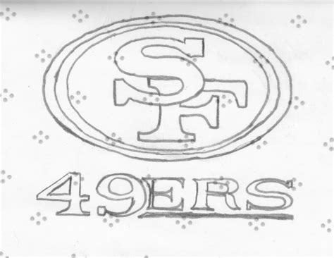 49ers logo coloring pages