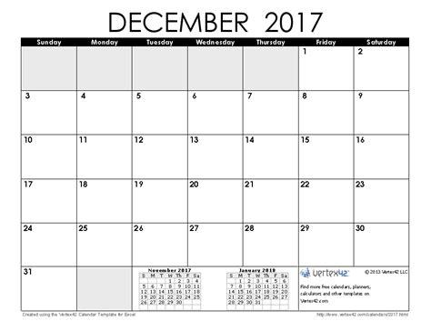 printable agenda december 2017 free printable calendar printable monthly calendars