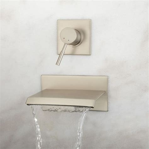 lavelle wall mount waterfall tub faucet bathroom lavelle wall mount waterfall tub faucet tub faucet