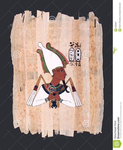 imagenes del dios osiris pintura del papiro de dios egipcio antiguo osiris imagen