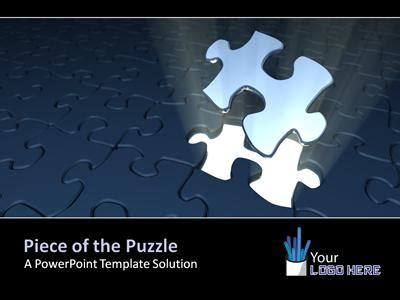 piece of the puzzle a powerpoint template from