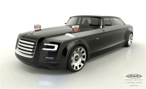 New Limo by The Designs President Putin A New Limo Limo