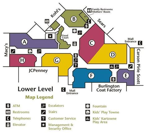 layout of yorktown mall stratford square mall bloomingdale illinois