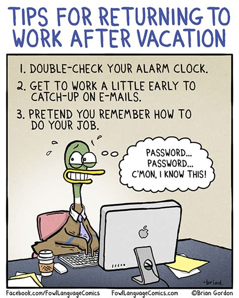 returning to work after c section back to work fowl language comics