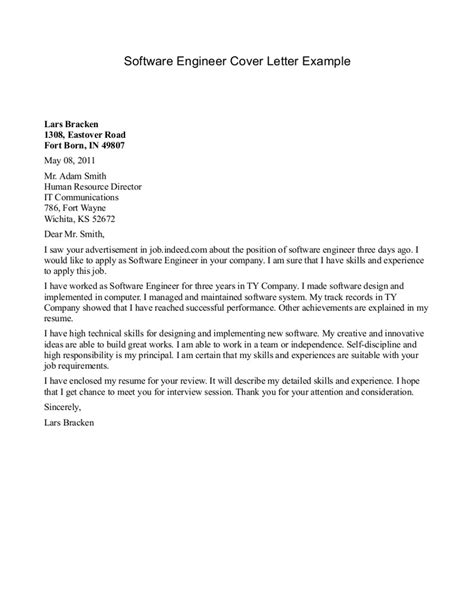 Resignation Letter Format For Software Engineer | Example ...