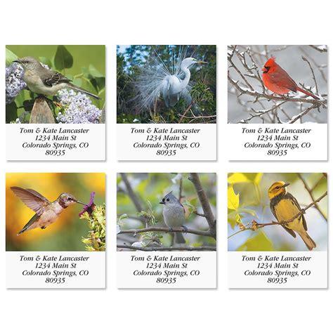 bird lover select address labels current catalog