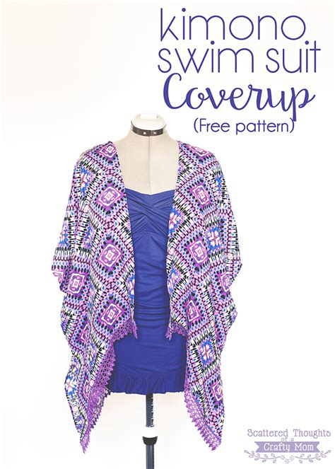 up ro pattern kimono swim suit cover up free pattern scattered