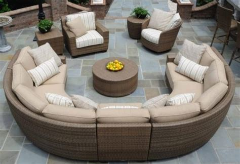 Curved Patio Furniture Set Outdoor Sectionals Archives Page 2 Of 3 Tubs