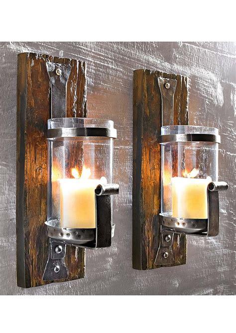 kerzenhalter wand glas wand kerzenhalter 187 wood 171 kaufen otto