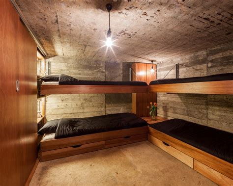 underground tiny house tiny war bunker makes unique underground home