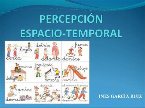 imagenes de relaciones temporales percepci 211 n espacio temporal