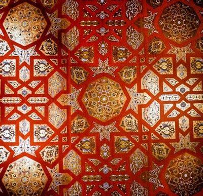 islamic pattern london detail of a fantastical wall in london based designer