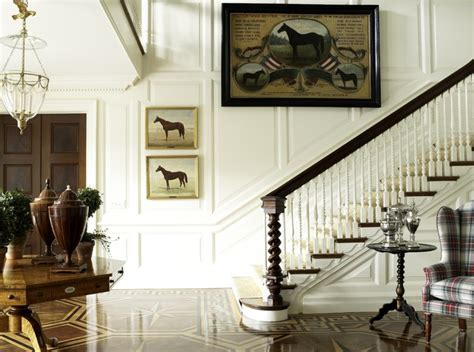 Classic Stairs Design Classic Staircase New York By Anthony Baratta Llc