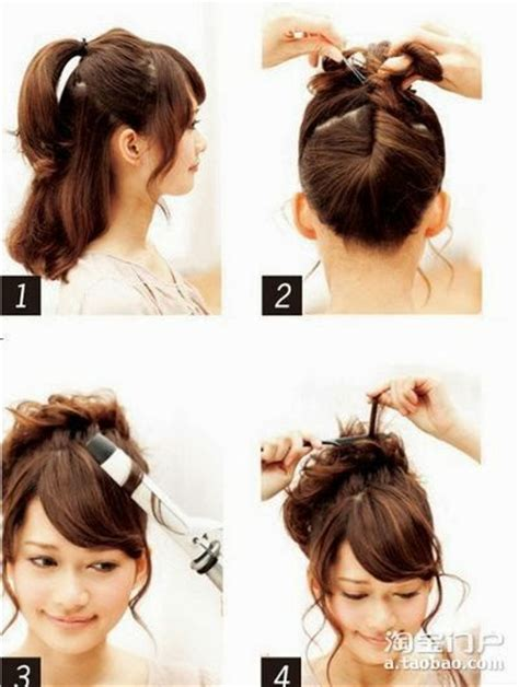 easy japanese hairstyles coiffure cheveux longs soir 233 es coiffure simple et facile