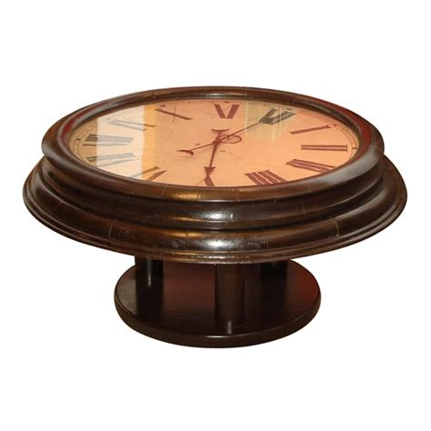 Clock Coffee Table Clock Coffee Table At 1stdibs