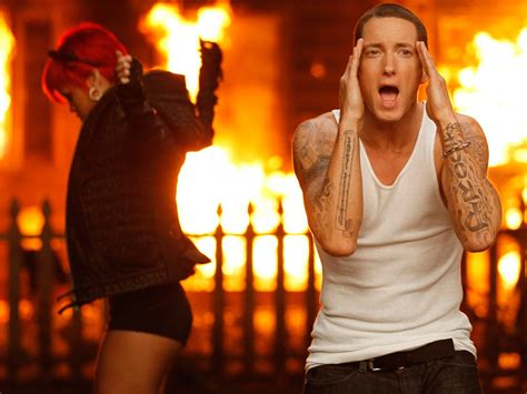eminem untitled eminem unleashes quot the monster quot new track with rihanna