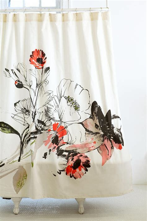 orange poppy curtains this is my shower curtain love it you can t see it