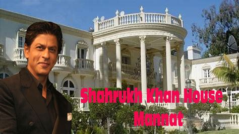 shahrukh khan house mannat inside and outside