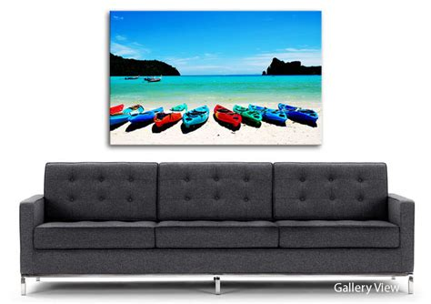 boat canvas direct boat paradise beach canvas stretched canvas