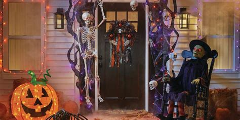home depot halloween decorations inflatables