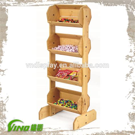 estantes para supermercado supermercado de frutas y verduras de madera display rack