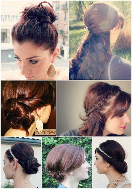hair styles for after five hairstyles in 5 minutes