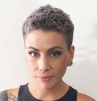 Best 25  Very short hairstyles ideas on Pinterest