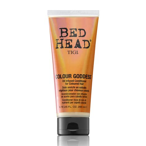 bed head conditioner tigi bed head colour goddess oil infused conditioner for coloured hair 200ml feelunique