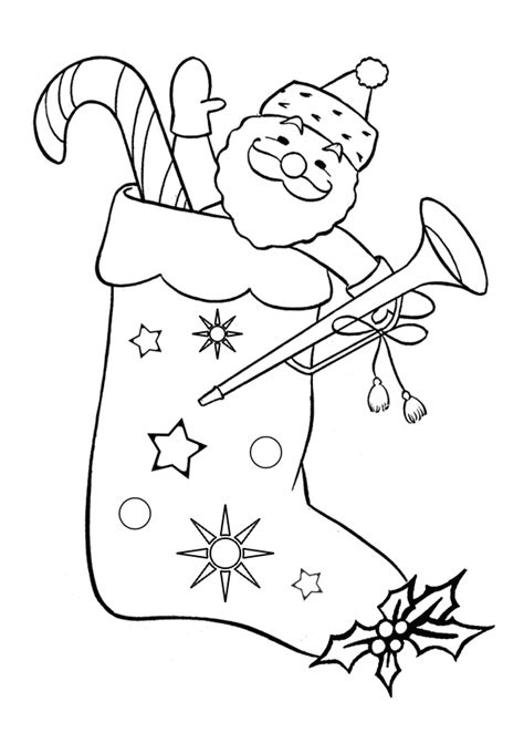 christmas stockings coloring pages wallpapers