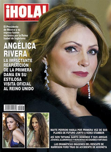imagenes revista hola angelica rivera en 161 hola ang 233 lica rivera la impactante reaparici 243 n de