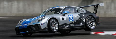 Porsche Carrera Cup by Home Black Falcon
