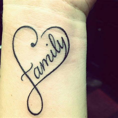 family tattoo on wrist 9 best images about ideas on