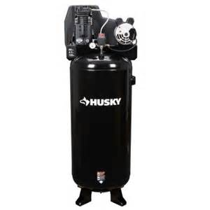 home depot air compressor husky husky 60 gal stationary electric air compressor c601h