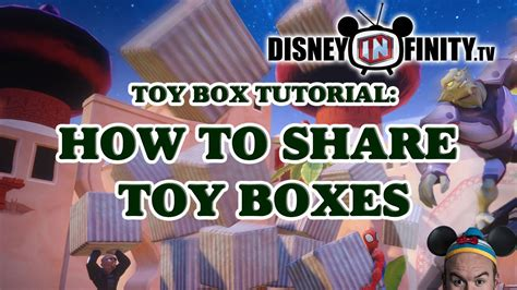 disney infinity friends how to boxes in disney infinity 2 0 with your
