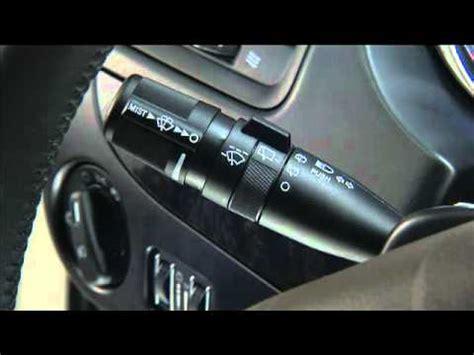 2012 dodge journey windshield wiper motor 2012 dodge journey windshield wiper washer controls youtube