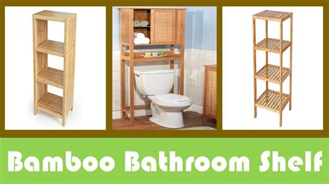 bamboo bathroom shelves pozicky co