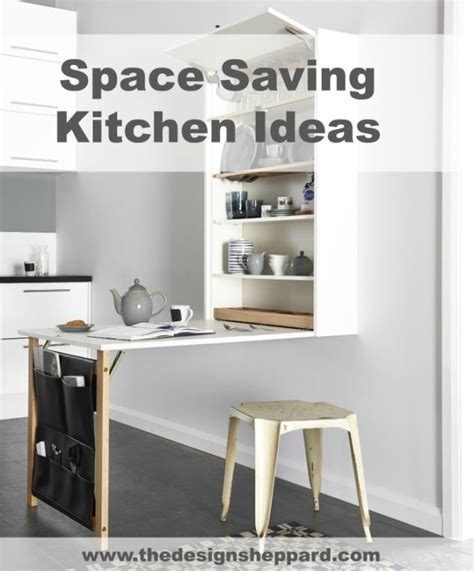 fold down dining table archives the design sheppard space saving ideas for a small kitchen living big in a