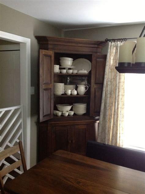 25 best ideas about antique corner cabinet on