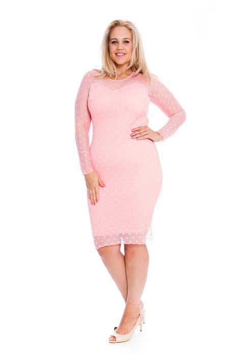 Dress White Polcadot Lace new plus size dress lace polka dot midi bodycon sale novuelle ebay