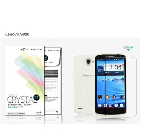 Lenovo A706 Nillkin Clear Screen Guard 1 buy wholesale nillkin ultra clear anti fingerprint screen protector for lenovo s920 from