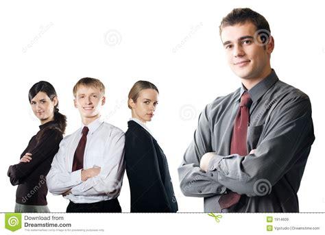 imagenes libres negocios grupo de hombres de negocios jovenes aislados en blanco