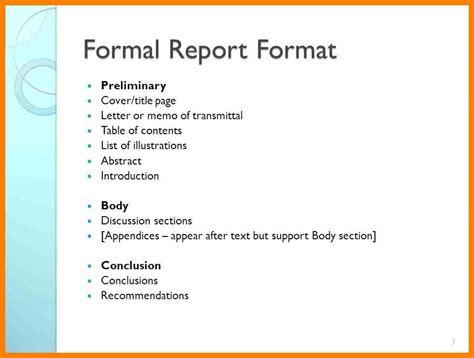 5 formal report writing format target cashier