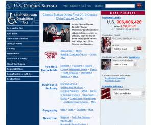American Fact Finder Address Search Census Gov Census Bureau Home Page