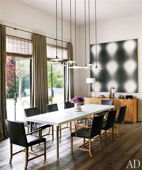 contemporary dining room light architectural digest steven volpe lewis butler great room