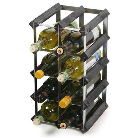 Black Wine Racks by Traditional Wooden Wine Racks Black Ash Wine Racks Uk